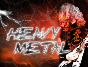 Heavy metal – den skrikiga rocken