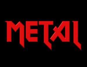 Hårdrocksgrupperna och de metalliska namnen